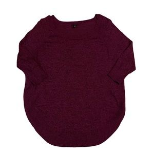 EXPRESS Lovely Magenta Scoop Neck Sweater!